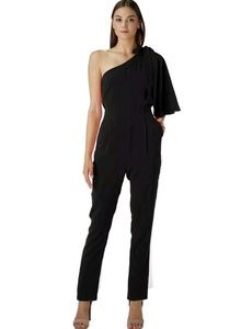 Adelyn Rae Willow one shoulder jumpsuit - small